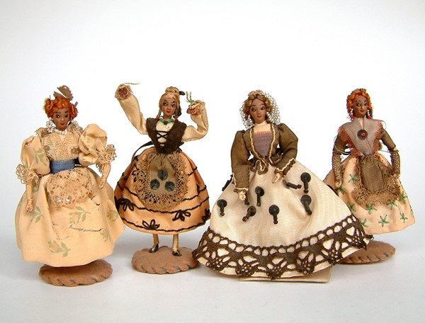 Picture of Spain 4 Dolls Burgos Valencia Barcelona
