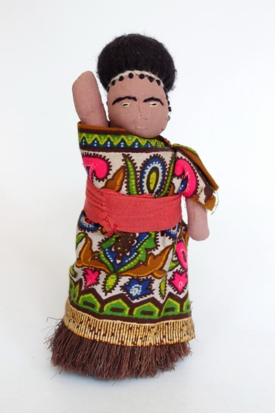 Picture of Swaziland Eswatini Costume Doll