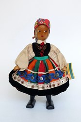 Picture of Poland Doll Lowicz