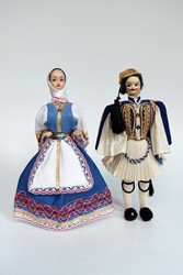 Picture of Greece Dolls Athens Evzone & Peasant
