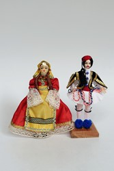 Picture of Greece Dolls Athens Evzone & Lady