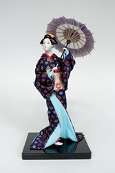 Picture of Japan Doll Geisha with Parasol