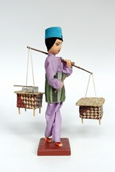 Picture of Singapore Doll Satay Seller