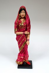 Picture of India Doll Hindu XL