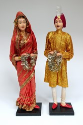 Picture of India Dolls Hindu Wedding XL