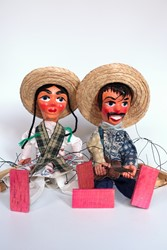Picture of Mexico Dolls Puppets