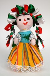Picture of Mexico Otomi Doll
