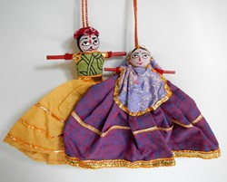Picture of India Folk Dolls Rajasthan