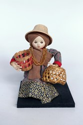 Picture of Thailand Doll Basket Weaver
