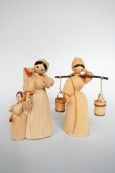 Picture of Czechia 2 Corn Husk Dolls