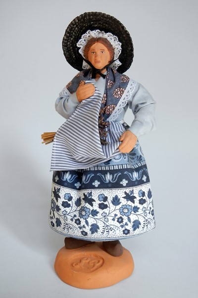 Picture of France Santon Doll Lavender Cutter