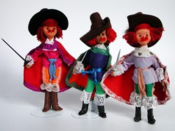 Picture of Germany Dolls 3 Musketeers with Label
