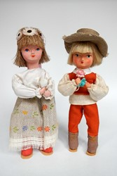 Picture of Poland 2 Folk Dolls